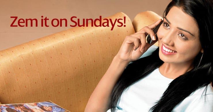 warid zem sunday Warid Zem Sunday Craze