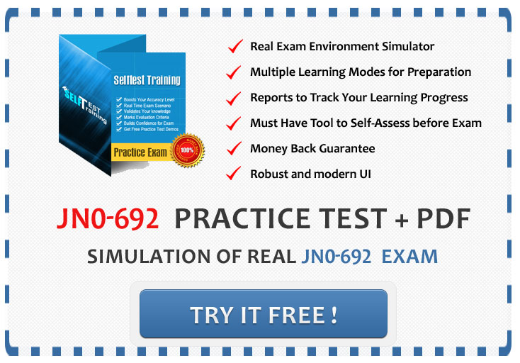 JN0 692 exam JN0 692 Exam Juniper Networks' Widely Known For Networking Professionals