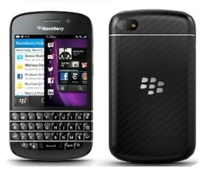 Q10 300x246 Apprising BlackBerry Q10 BB10 Smartphone